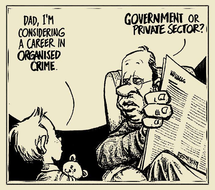 evolution of an organized crime group essay The corporate criminal organization is a far cry from the small-scale predations of  a bonnie and clyde criminal organizations keep their illegal operations secret.