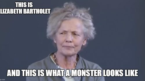 Elizabeth Bartholet is a Monster meme.jpg